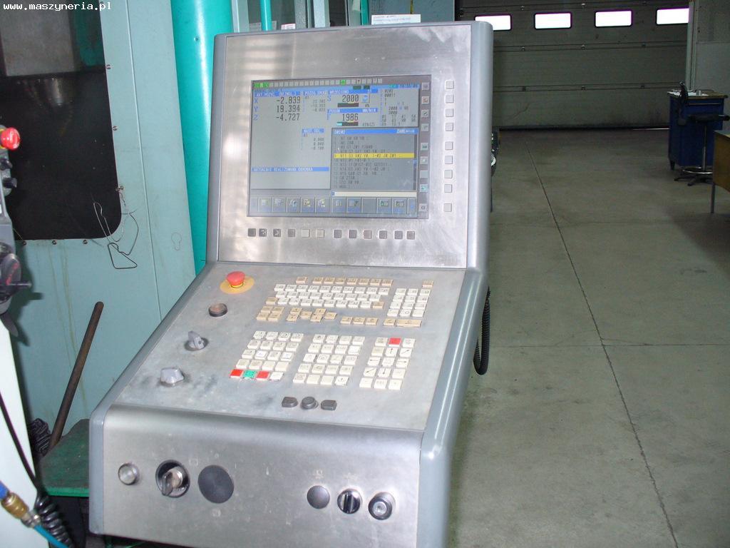 Sterowanie CNC-3D Fanuc 180i-MB