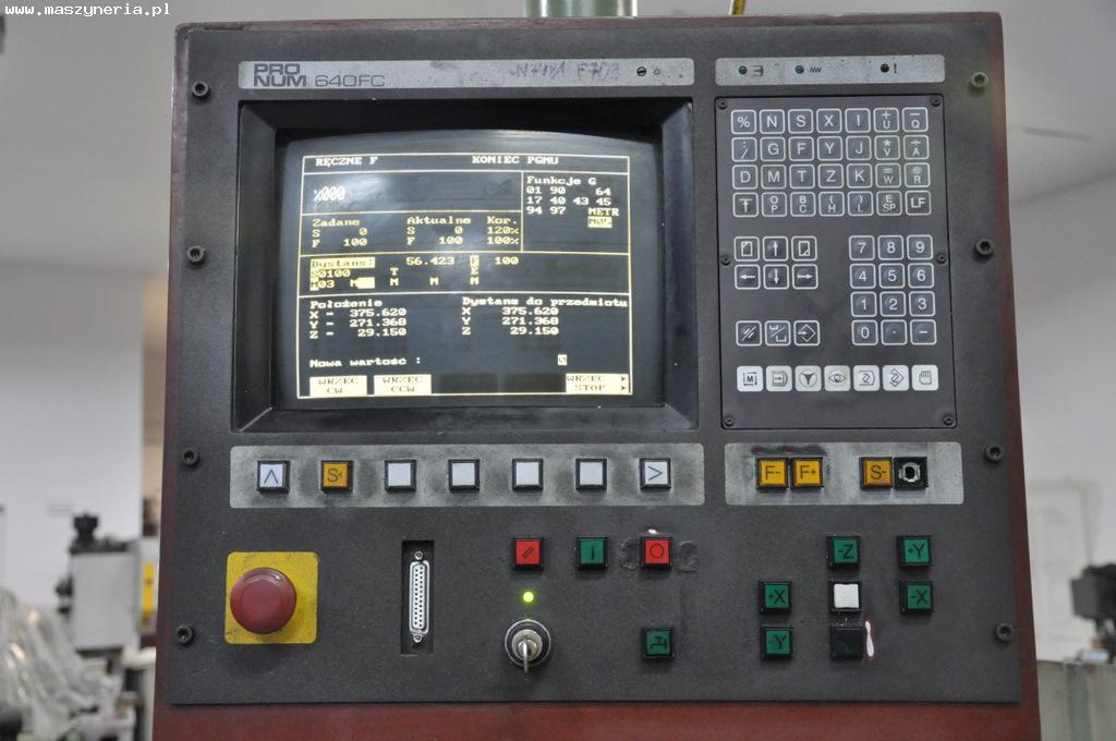 Sterowanie CNC PRONUM 640 FC