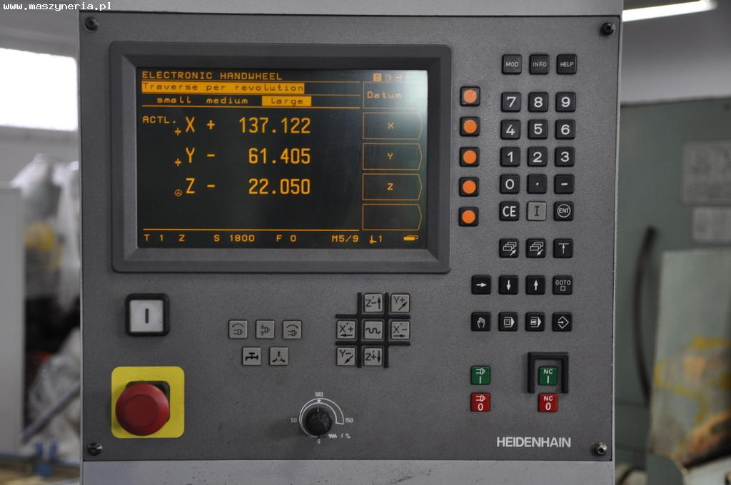 Sterowanie CNC HEIDENHAIN TNC 124