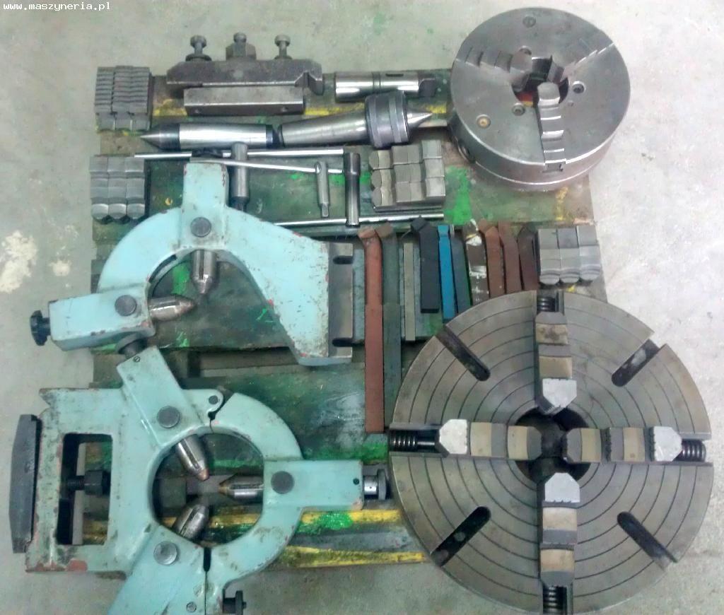 Oprzyrządowanie tokarki uniwersalnej AFM TUG 40 x 1500