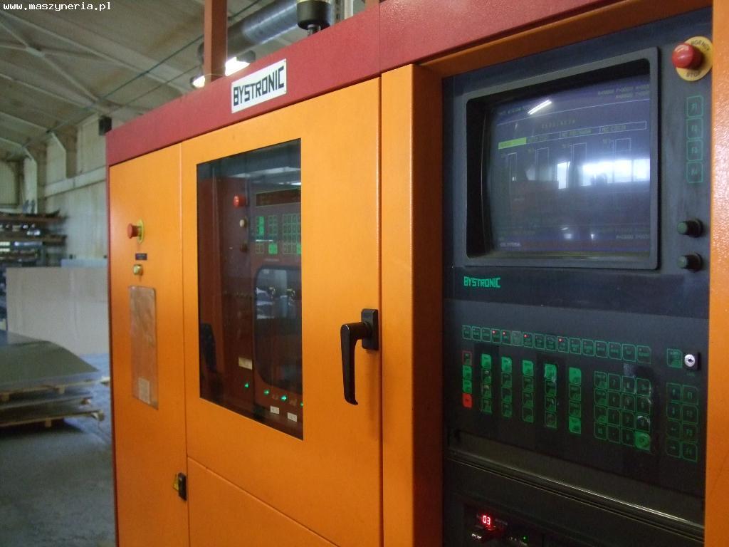 Bystronic - sterowanie CNC